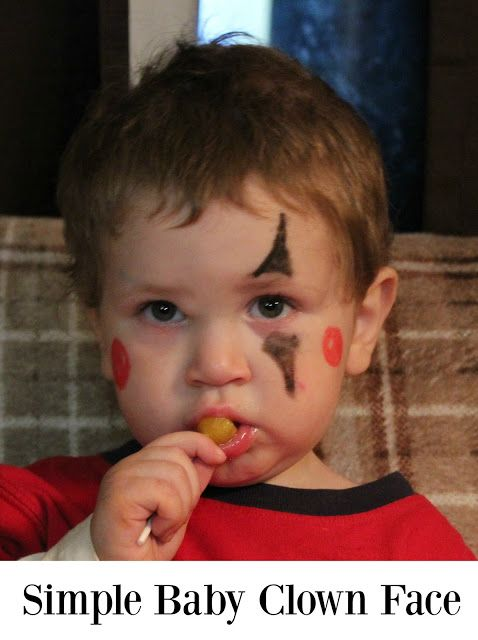 Baby Boy Makeup : makeup, Halloween, Makeup, Ideas, Baby!, Face,, Easy,