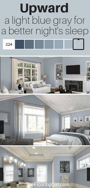 Best Blue Gray Paint Colors (21 stylish dusty blues images