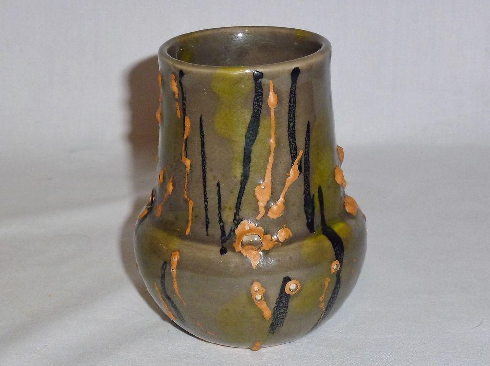 """Raymor Mid Century Modern Vase (4 1/2"""" Tall)"""