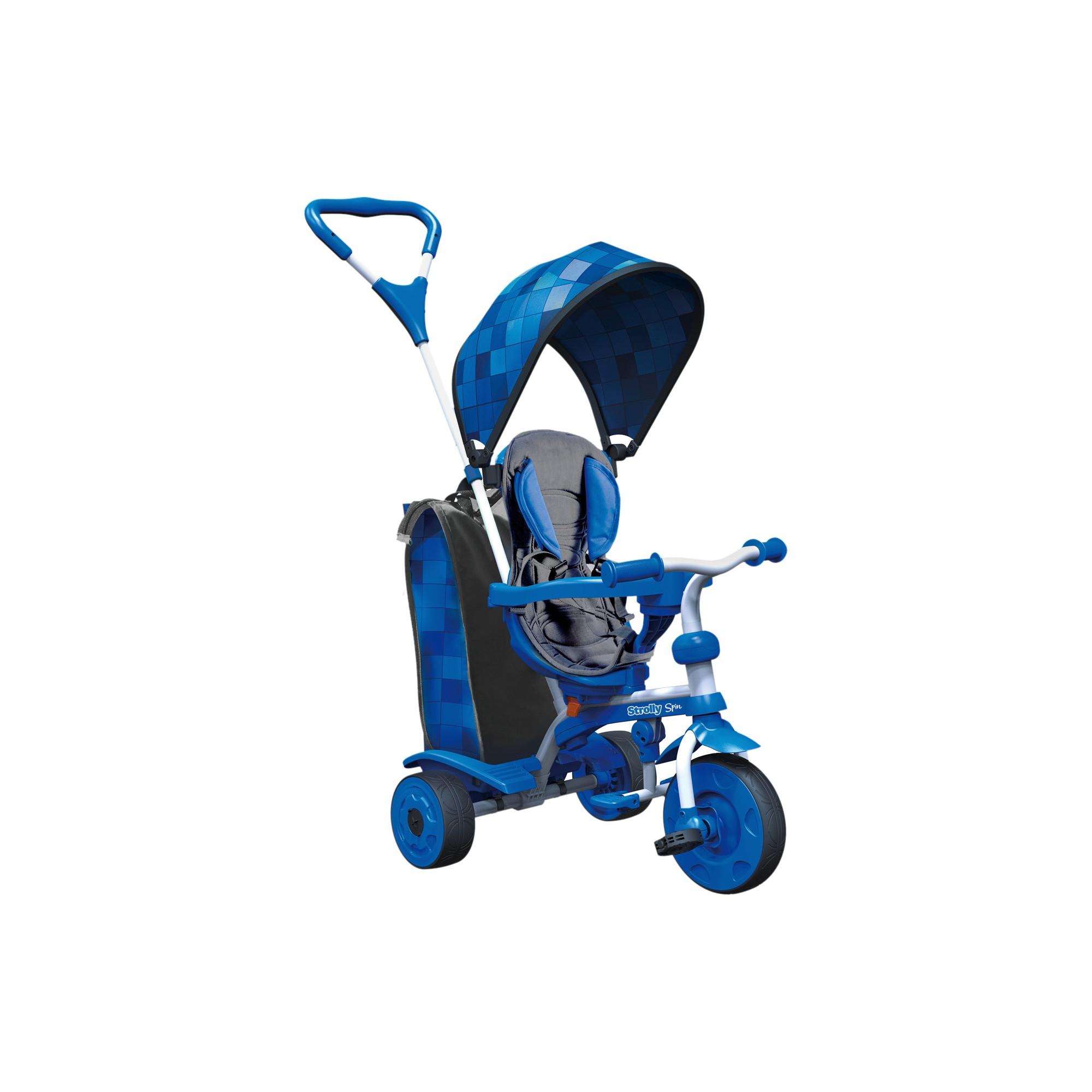 Yvolution Y Strolly Spin 2in1 Kids' Trike Blue Kids
