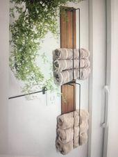 Photo of Kleine Badetuchablage. Etwas schicker aber ich mag es.   #woodproject