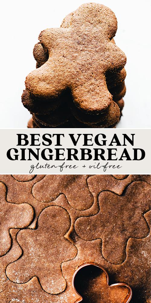 Photo of The BEST Vegan Gingerbread Cookies (gluten-free)