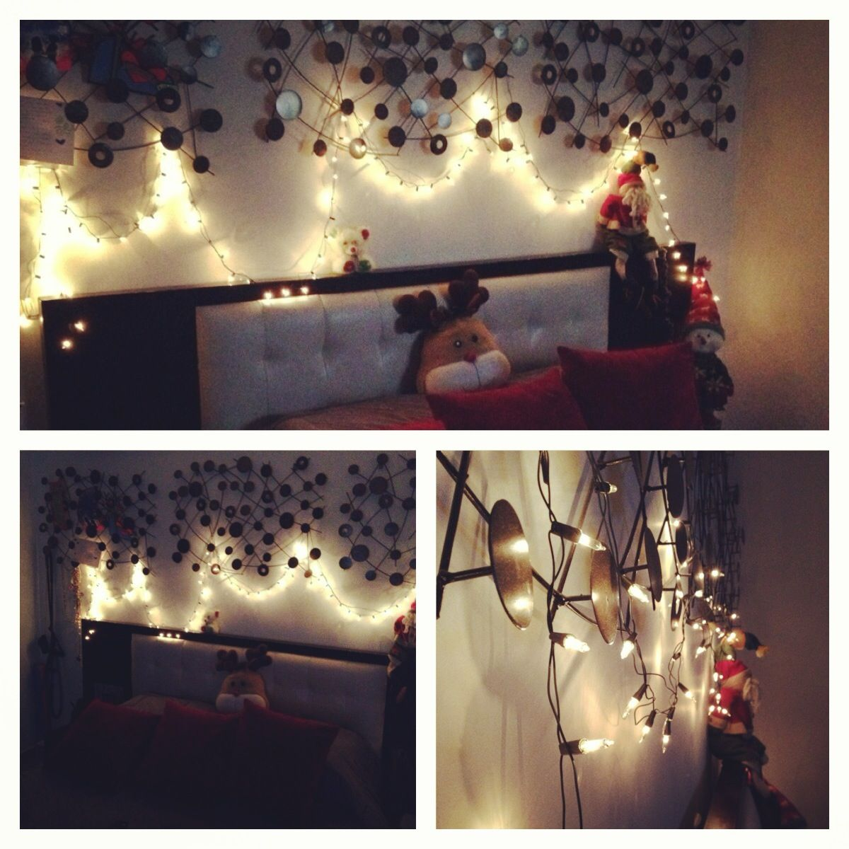 Christmas lights in bedroom pinterest - Christmas Lights Bedroom