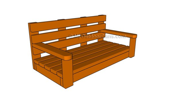56 diy porch swing plans free blueprints porch swings diy porch weve collected a list of some of the best diy porch swing plans that solutioingenieria Images