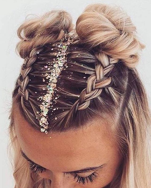 36 Pretty Chic Braided Hairstyles For Every Hair Type Medium Hair Styles Braided Hairstyles