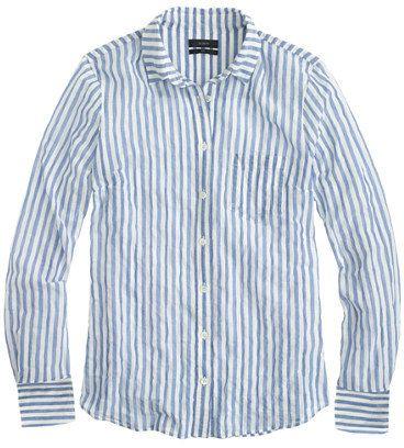 47d235415 J.Crew Crinkle gauze boy shirt on shopstyle.com | Laura BT's Board ...