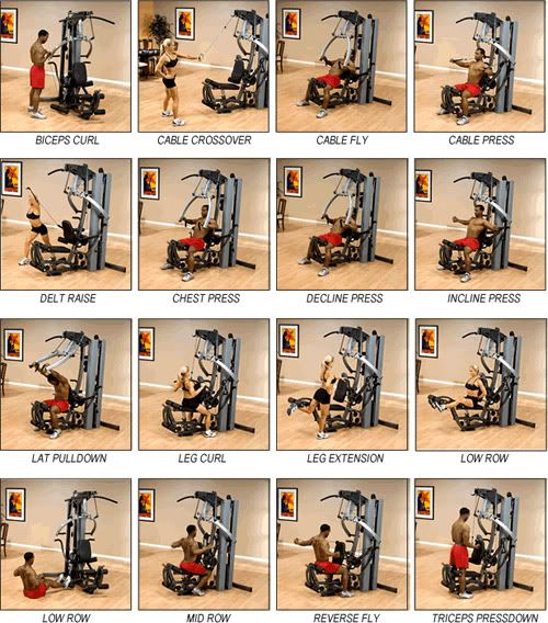 Multi gym instructions nutrition and fitness pinterest for Home designs by marcy