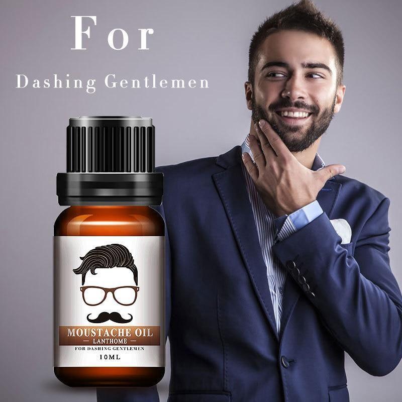 Men Beard Oil Mustache Styling Beeswax Moisturizing Facial Hair Productos Para Barba Crecimiento De Pestanas Crecimiento Del Cabello