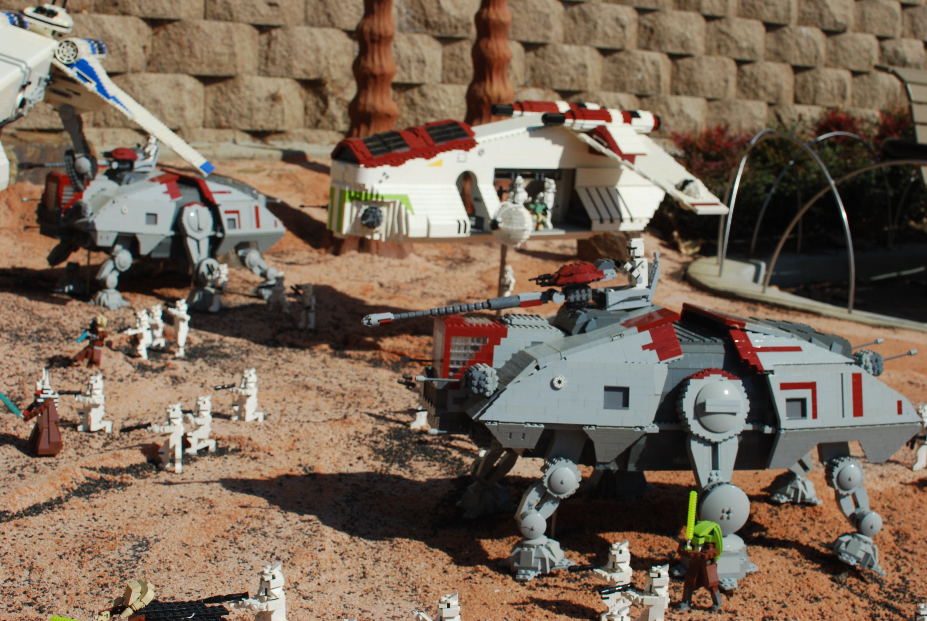 Star Wars Miniland Star Wars Legoland Lego Star Wars Star