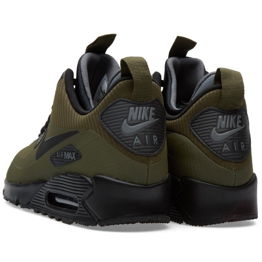 nike air max 90 mid winter groen