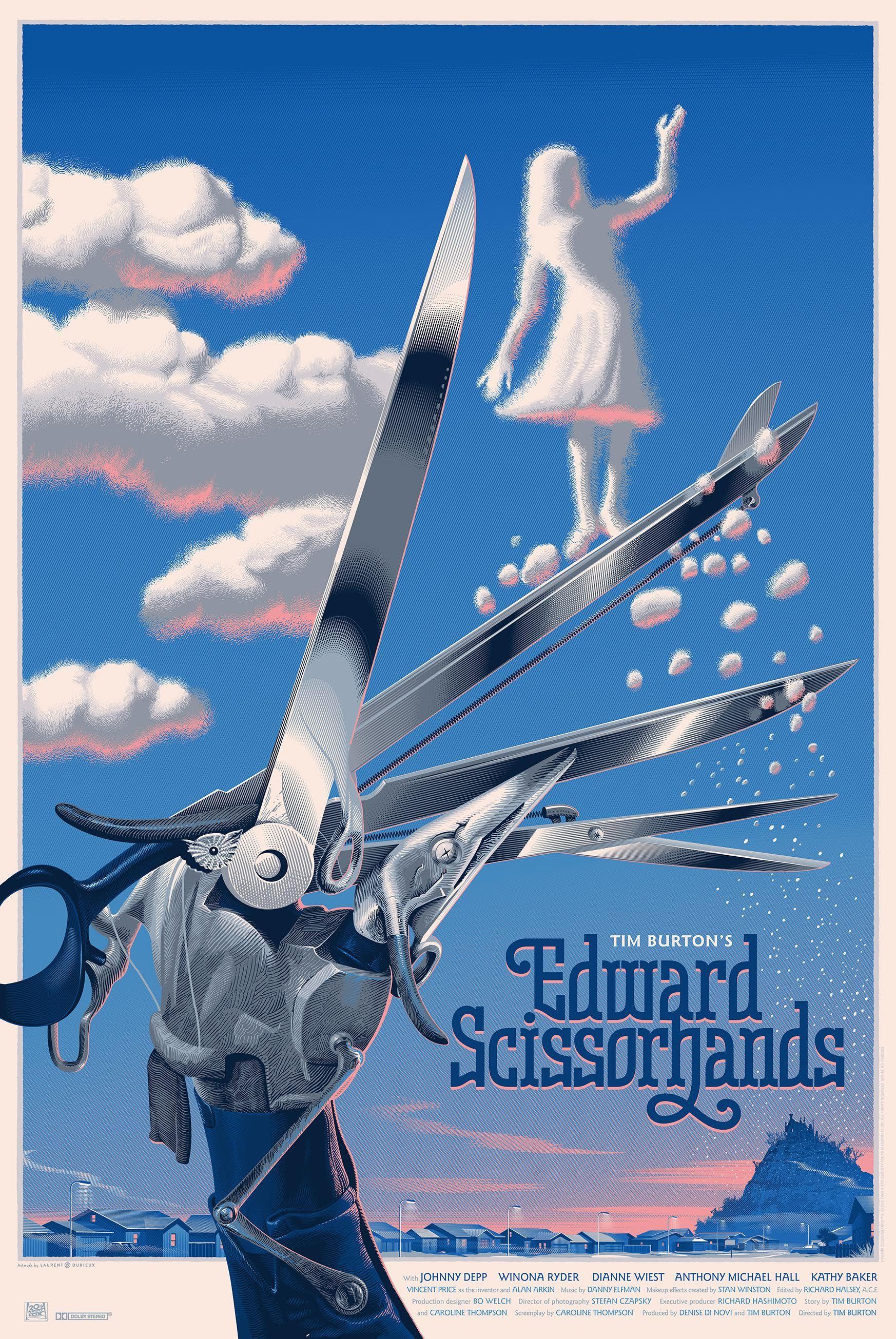 Edward Scissorhands Poster Laurent Durieux Jpg 1746 2610