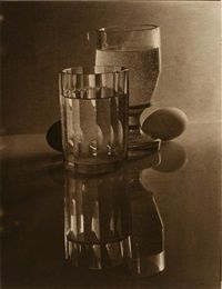 Glasses and Eggs by Josef Sudek