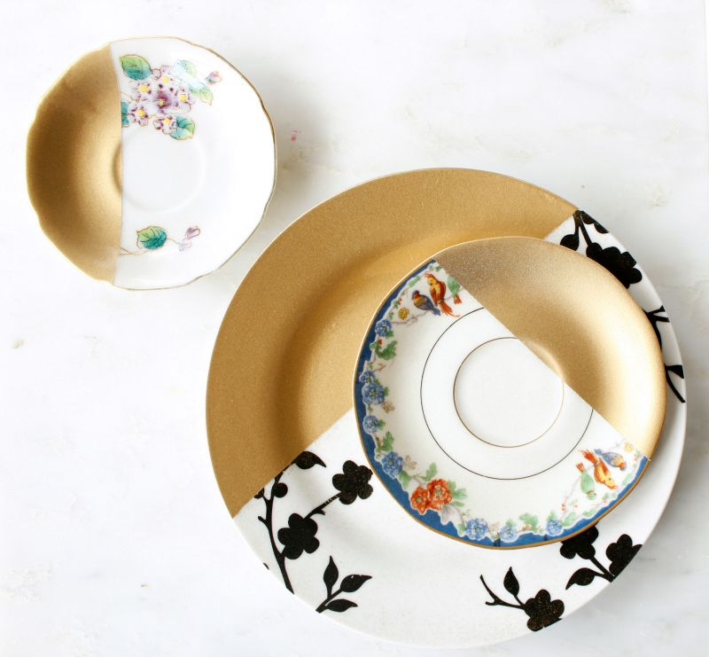 Diy gold dipped spray painted jewelry dish the perfect do it diy gold dipped spray painted jewelry dish the perfect do it perfect gift for hergifts solutioingenieria Image collections