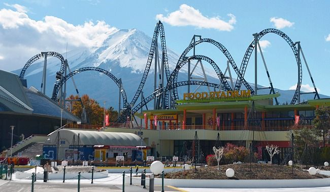 Fuji Five Lakes Travel: Fuji-Q Highland
