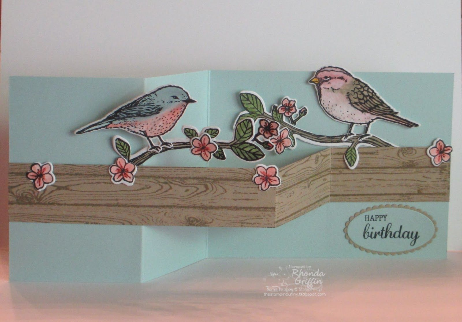 I love the stamp set Best Birds, and I finally had a chance to play with it recently. I made a male blue bird and a purple finch and took ...