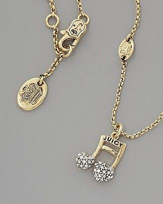 Juicy couture music note necklace one of my fave necklaces to wear juicy couture music note necklace one of my fave necklaces to wear d aloadofball Gallery