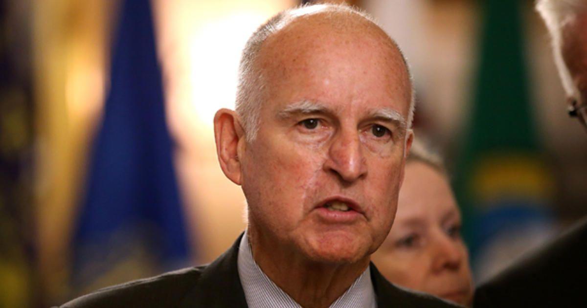 California Gov. Jerry Brown endorses Hillary Clinton - CBS News