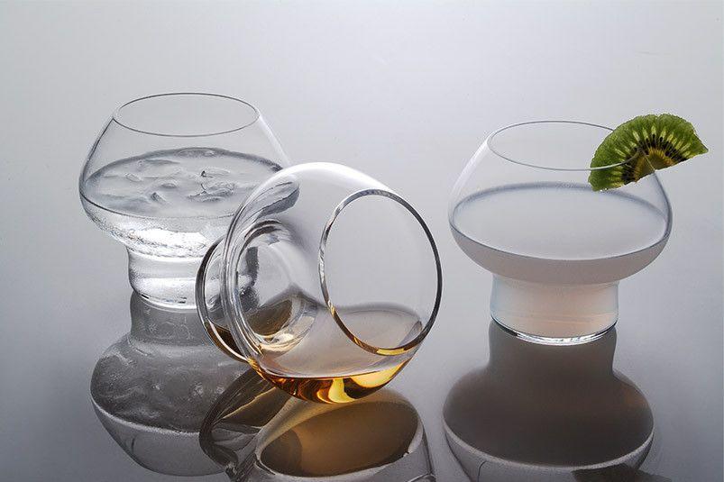 Jørn Utzon Spring Vandglas, 2 stk.