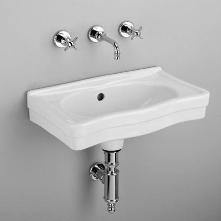lave mains mural belle epoque - Vasque Retro