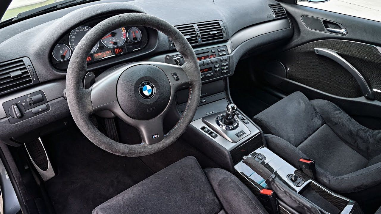 Bmw E46 M3 Coupe Csl Interior Design Bmw E46 M3 Coupe Csl