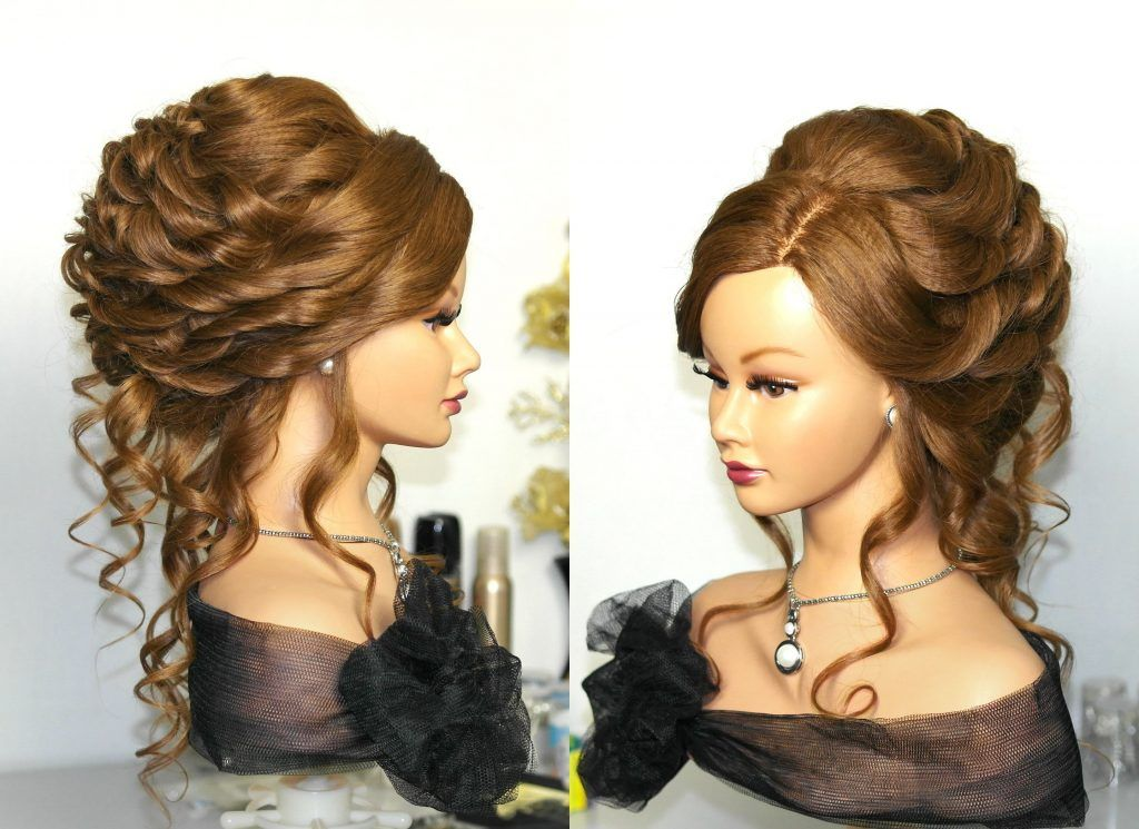 Wedding Hairstyles For Long Curly Hair Updos : Wedding updo hairstyles for long hair curly up styles