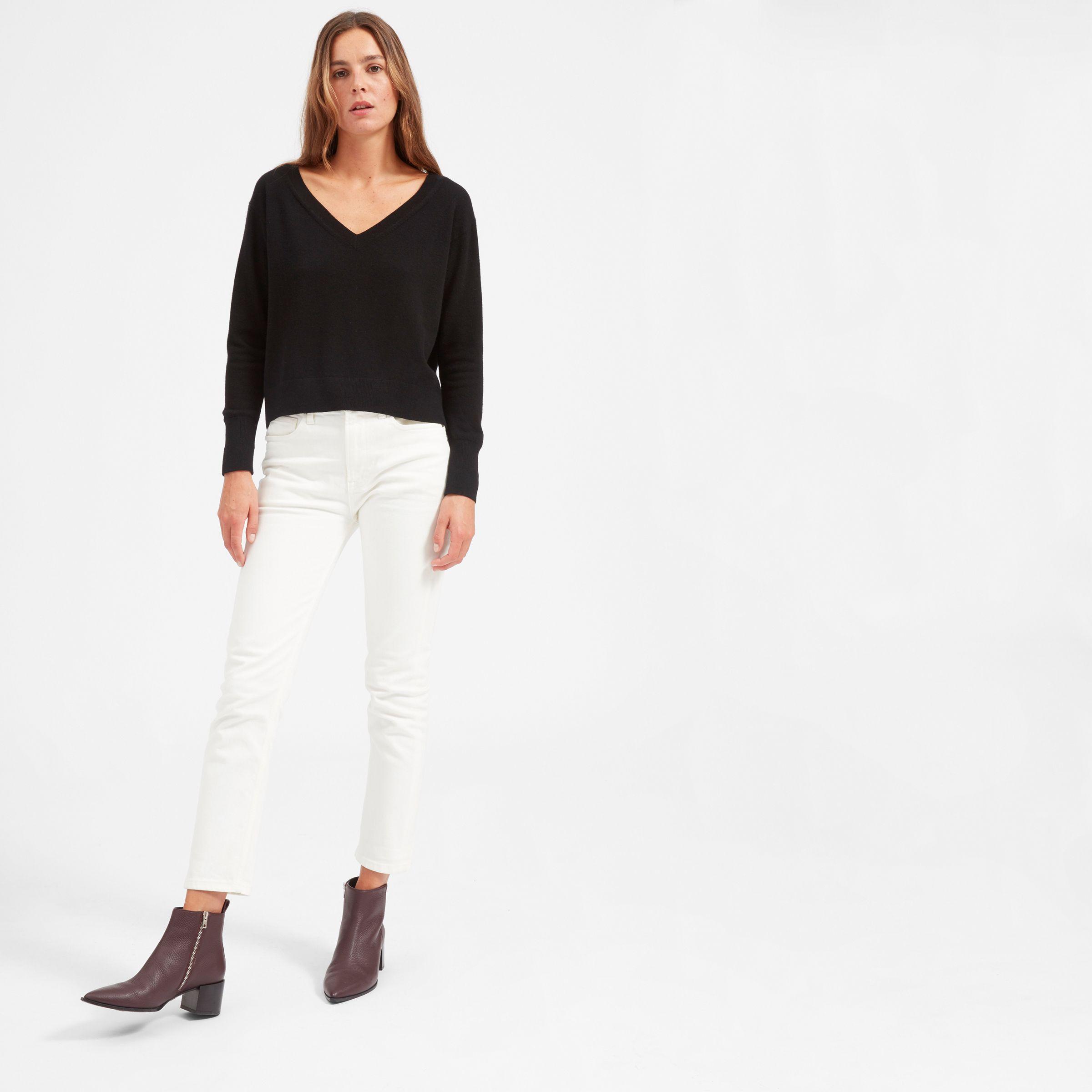508b7cc551 Everlane cropped cashmere sweater
