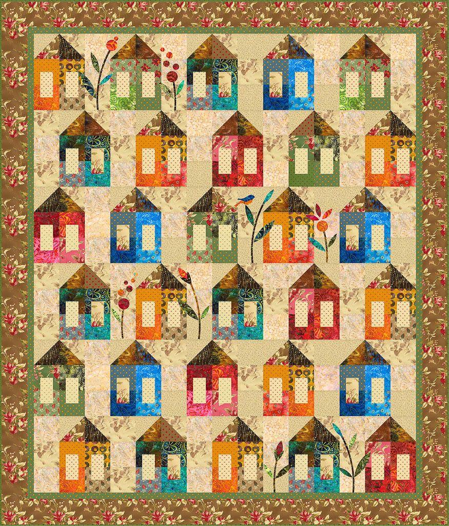 Quilt Pattern, Folk Art Quilt Pattern, Laundry Basket Quilt, Salt ... : edyta sitar quilt patterns - Adamdwight.com