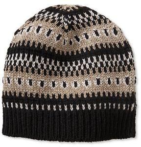 bc2a209b1 Fair Isle Beanie on shopstyle.co.uk   hats