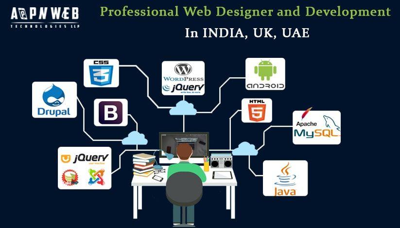 Professional Web Designer and Development In INDIA, UK