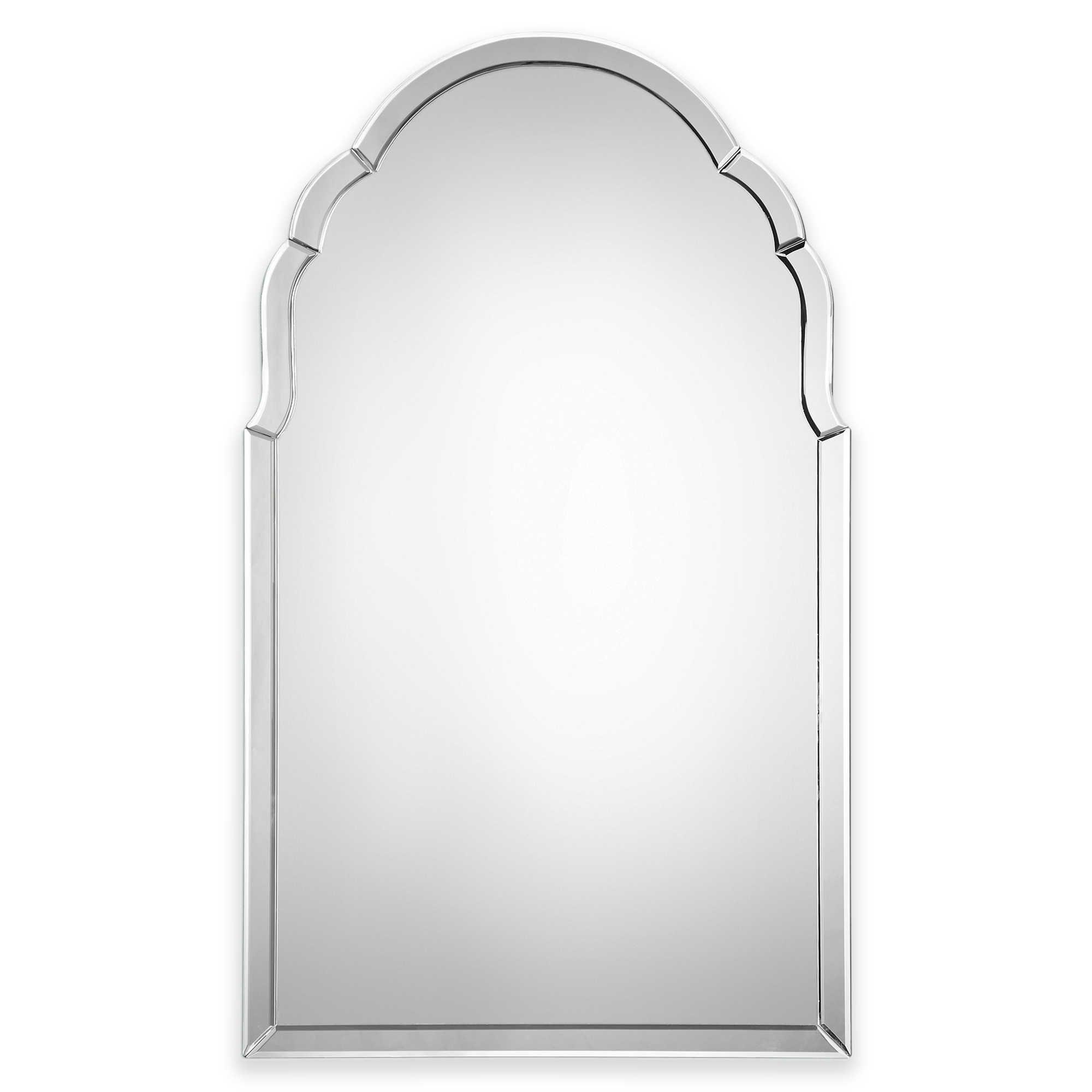 Uttermost 24 Inch X 40 Inch Brayden Wall Mirror With Images Frameless Mirror Mirror Wall Mirror