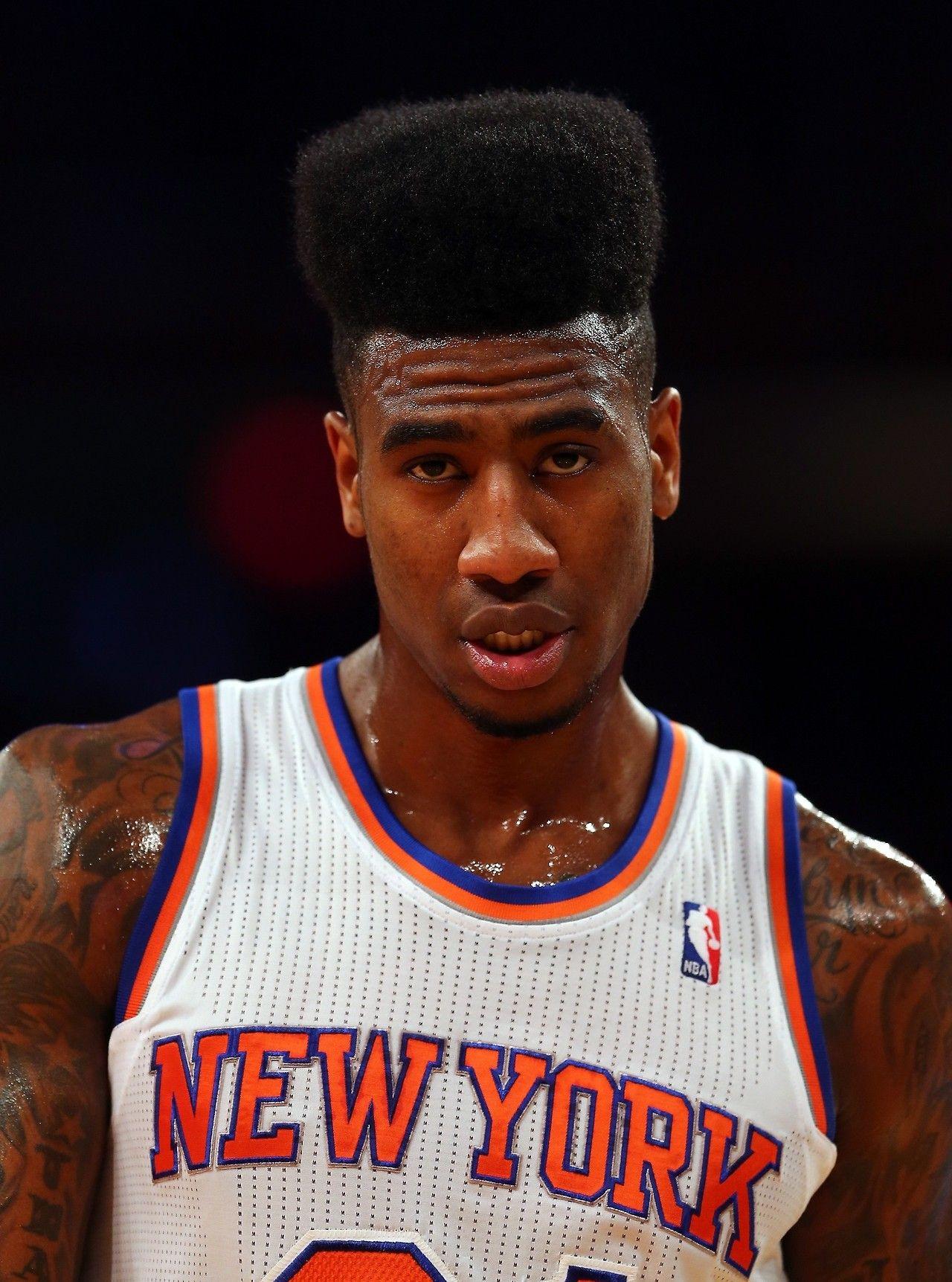 Iman Shumpert Iman Shumpert Flat Top Haircut Knicks