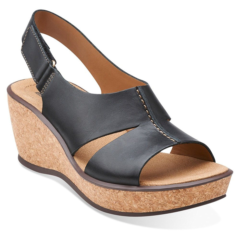 Clarks Women's Rosemund Dune Sandals