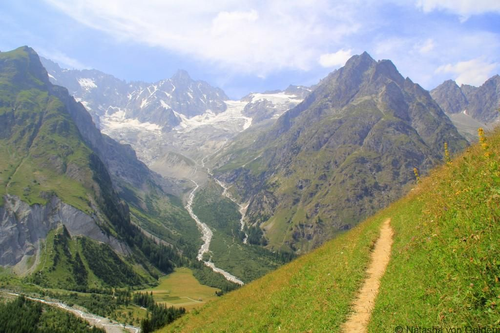 Hiking the Tour du Mont Blanc Champex to Ferret Tours