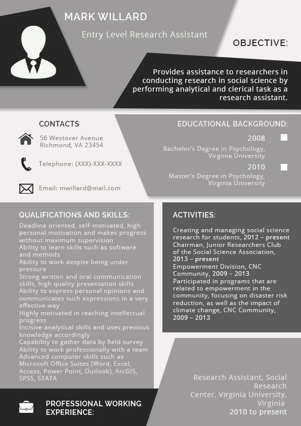 The Company Describe How To Use A Sample Resume For An Internship If You Have Any Query Or For Medical Assistant Resume Social Science Social Science Research
