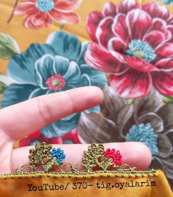 Photo of Very Attractive Rose Flowering Eye-Catching 29 Crocheted Needle …