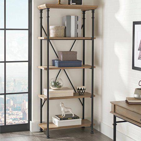 Home 5 Shelf Bookcase Bookcase Bookcase Storage