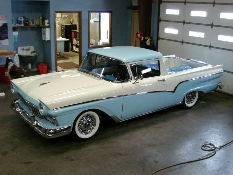 1957 Ford Ranchero Whatever Happened To The Ranchero Elcamino Concept Classic Cars Trucks Ford Classic Cars Classic Cars