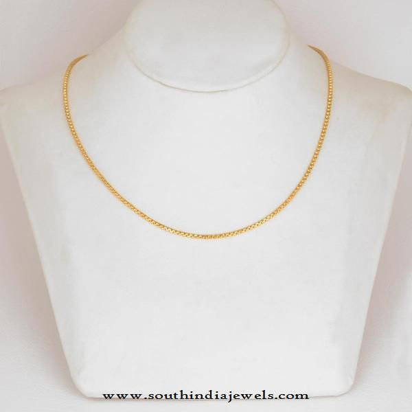 77a6b22a52d Daily Wear Gold Chain from WHPS | j | Gold chains, Gold jewelry, Chain