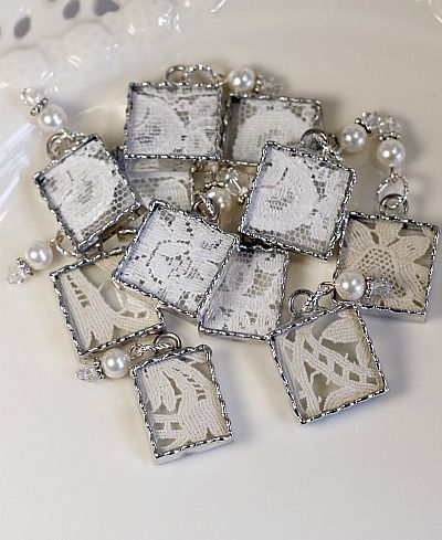20ps Silver Lotus Flower Charm Pendant Jewelry Making Bracelet DIY Accessories