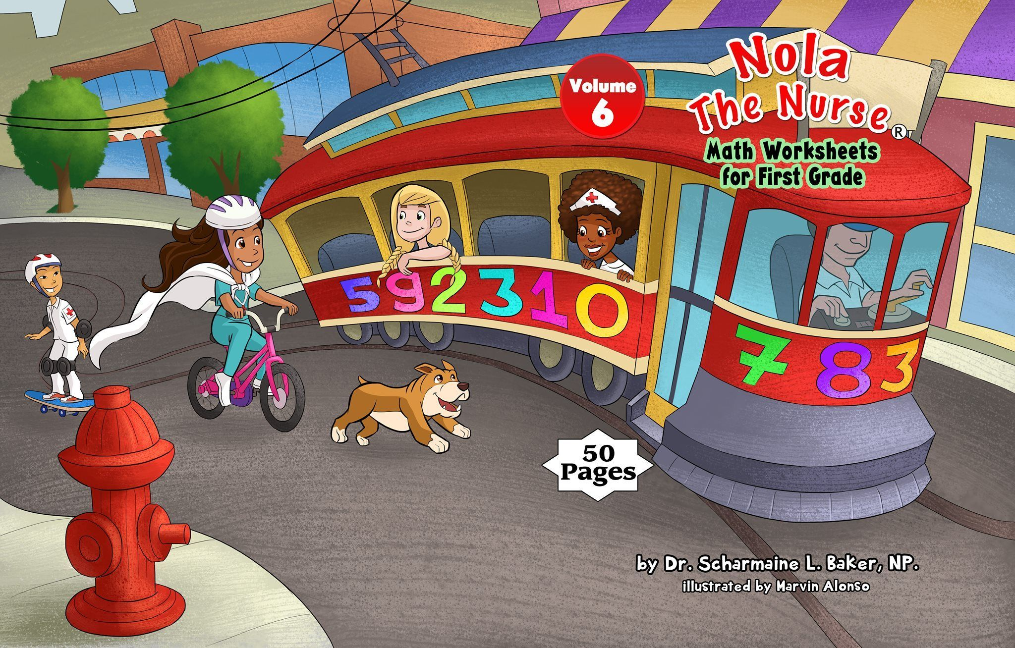 Nola The Nurse Math Worksheets For First Graders Vol 6