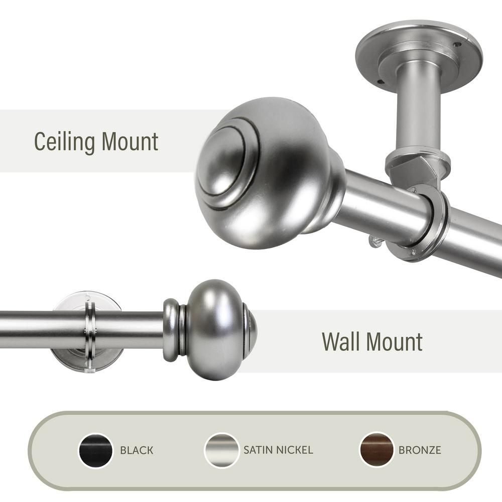 Curtain Track System Ceiling Mount Design Ideas Mounted 3662 Best