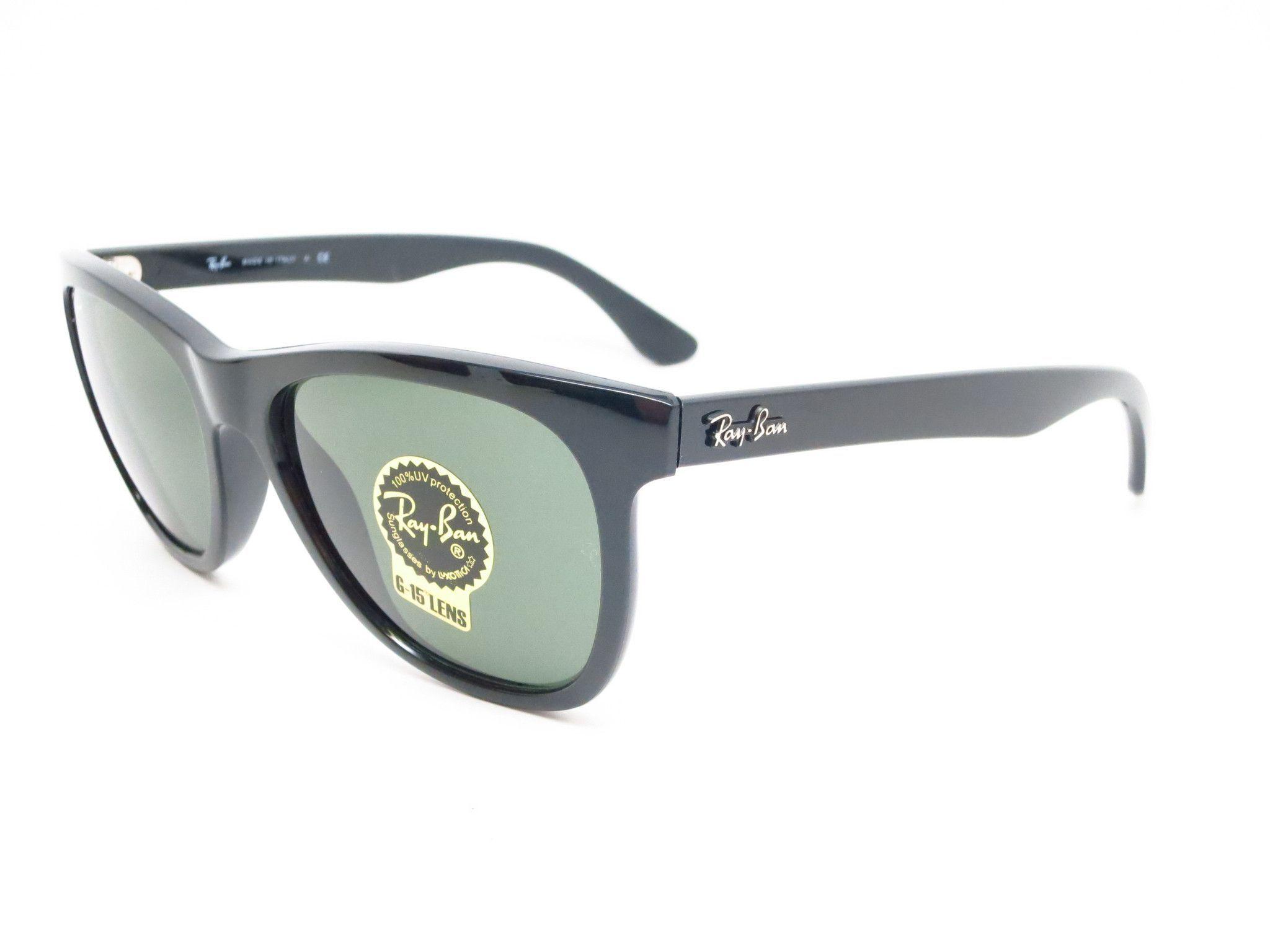 798efb5b74 Ray-Ban RB 4184 Highstreet 601 Black Sunglasses