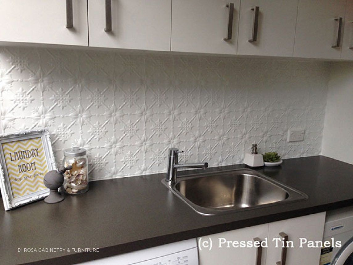 Original Kitchen Splashback White
