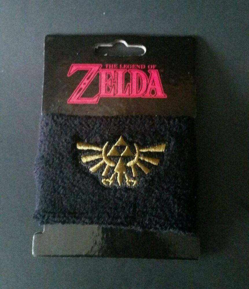 New Loot Crate July 2015 Legend Of Zelda Wrist Cuff Bioworld Sweat Arm Band #Nintendo