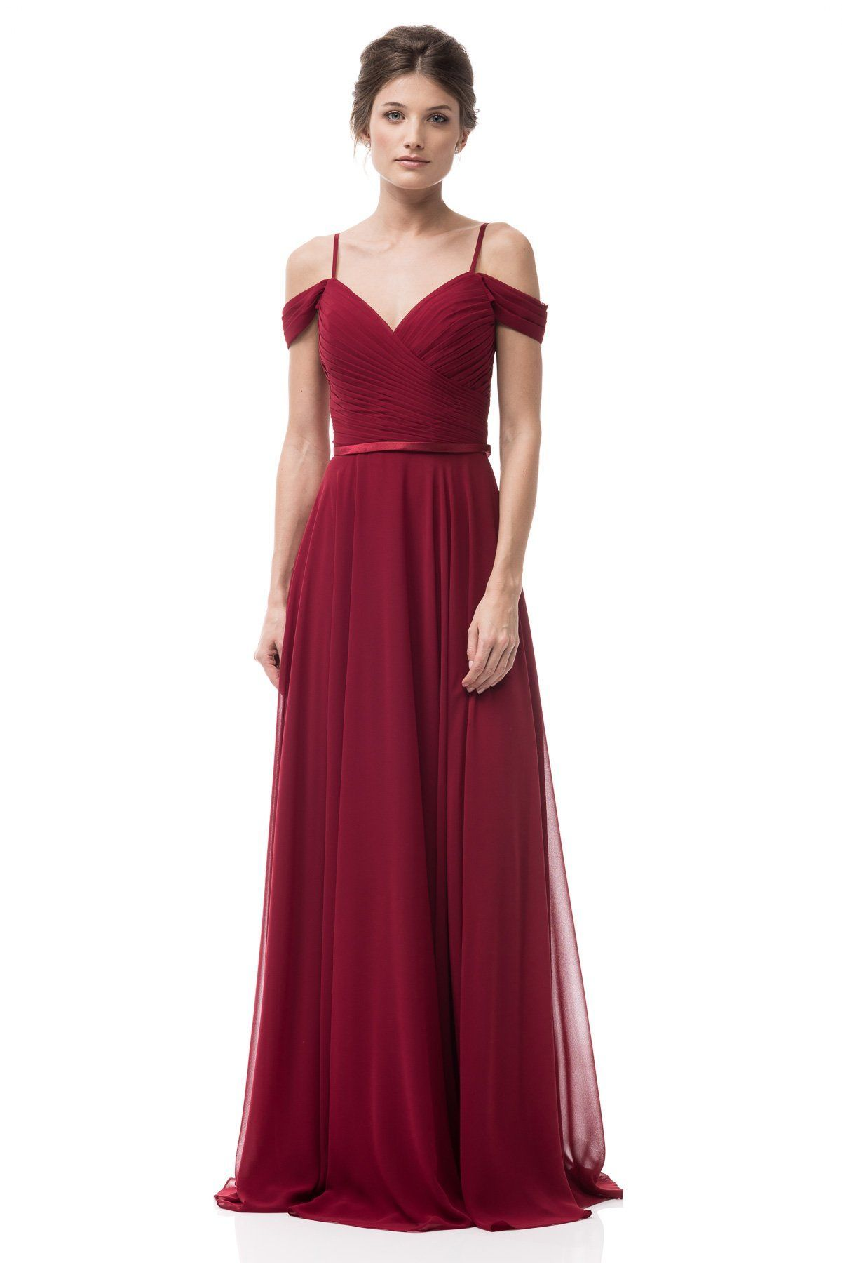 1decdff09d9d9 A-line crisscross sweetheart neckline Bridesmaid dress with delicate  spaghetti straps. Featuring satin accented waist. Soft gathers for extra  fullness and ...
