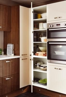 corner larder tower unit my new kitchen pinterest kitchens kitchen ranges and kitchen. Black Bedroom Furniture Sets. Home Design Ideas