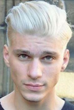 bleach blonde hair men - Google Search
