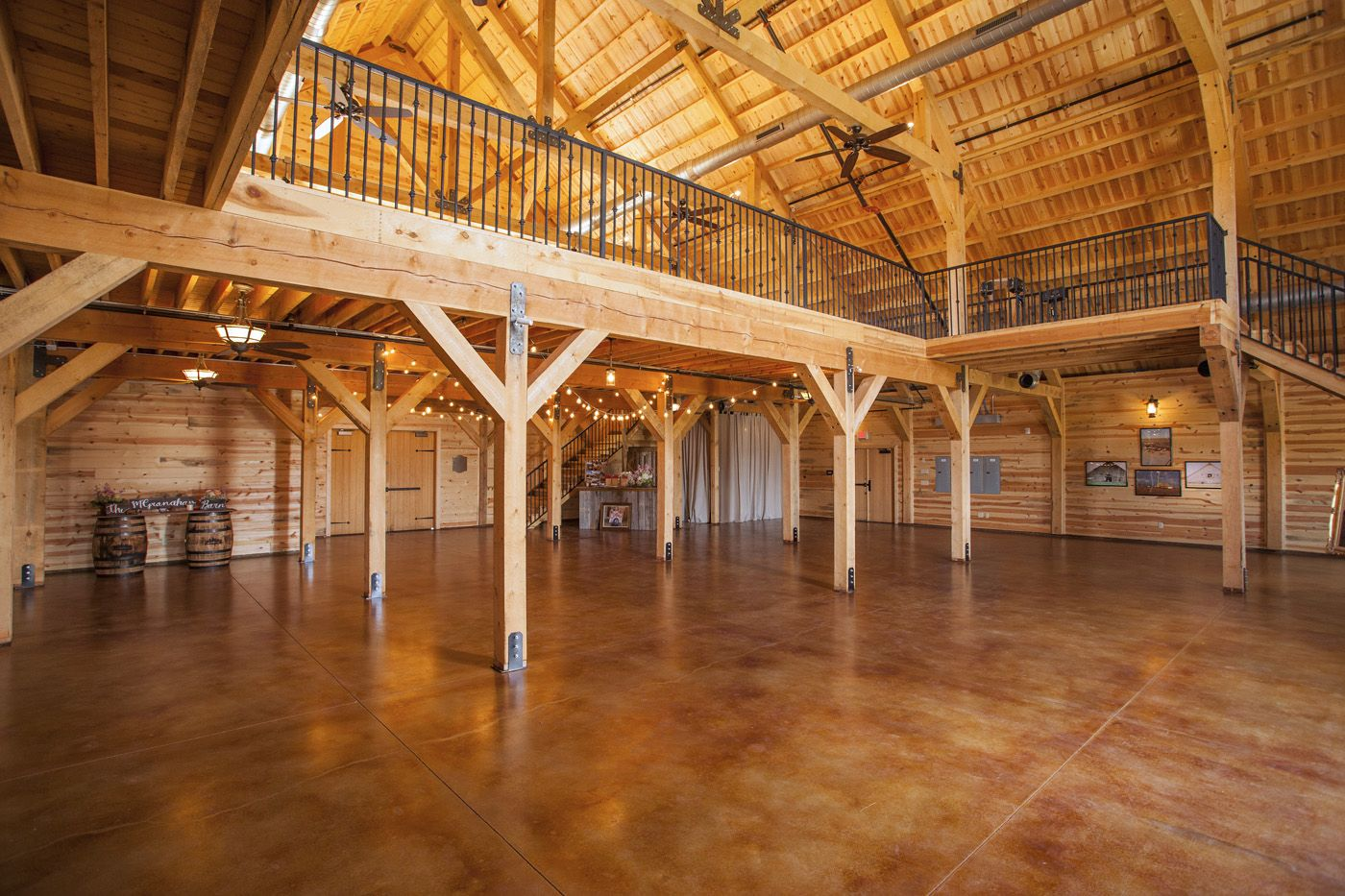 barn wedding barns venue pole beam event sandcreekpostandbeam party weddings kits country venues plans oosile creek reception receptions horse dream