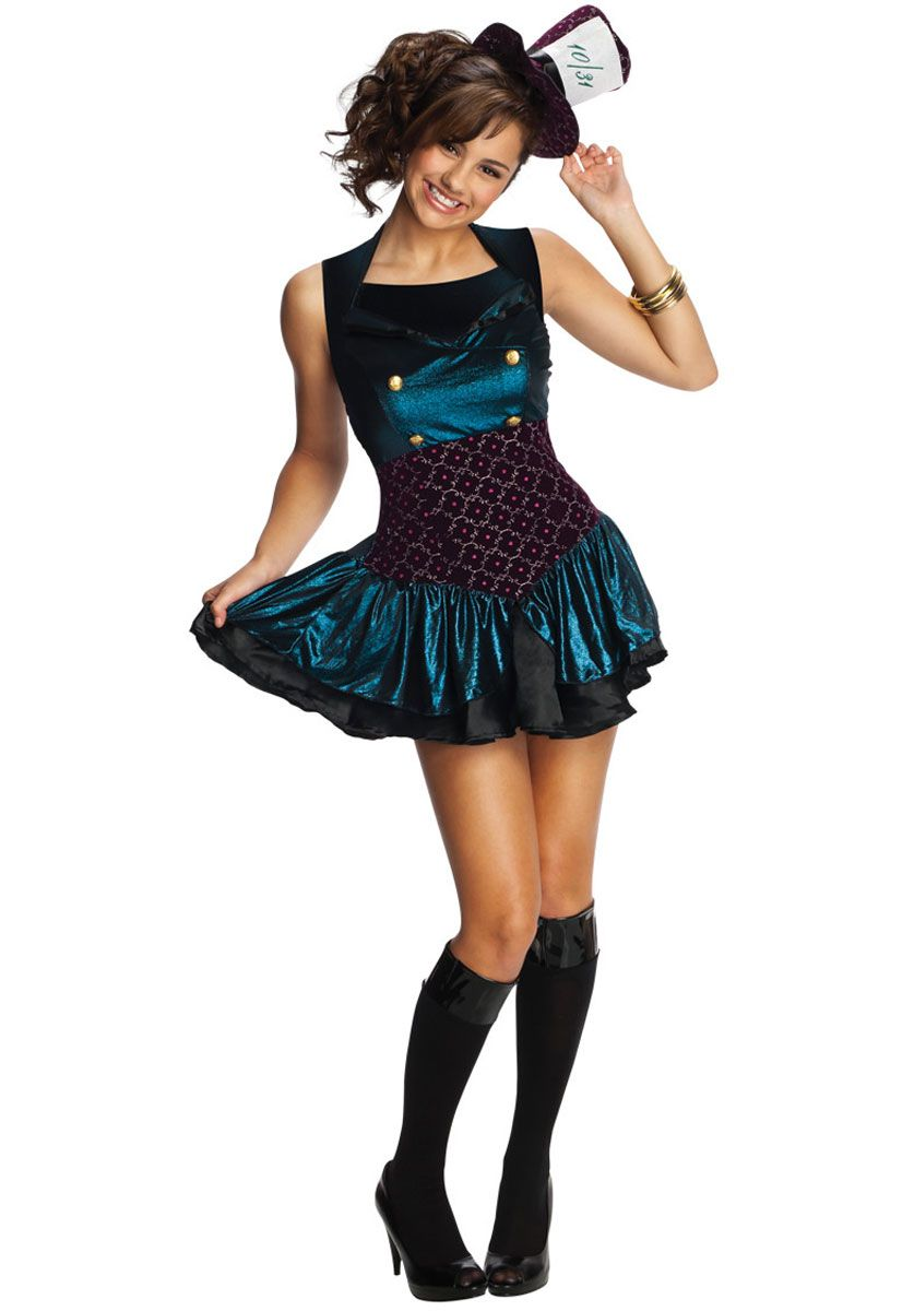 Teen Mad Hatter Costume - Fairy Tale Costumes at Escapade ...