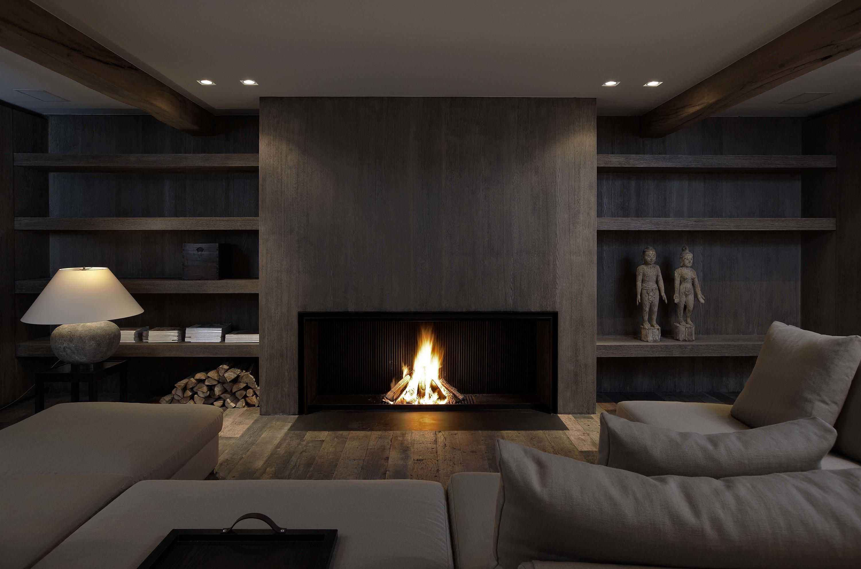 Wandgestaltung Stein Holz Wohnzimmer Satteldach   Architektur   Pinterest    Holz Wohnzimmer, Wandgestaltung Und Satteldach